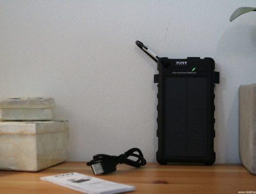 Port Connect - Batterie de secours solaire 8000MAH