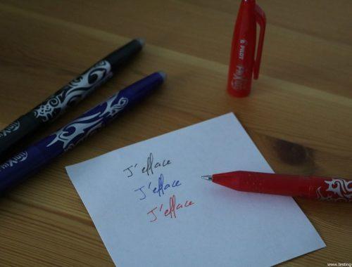 Pilot FriXion Ball - stylo effaçable