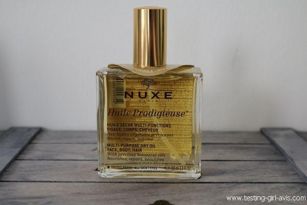 Huile Prodigieuse Nuxe - Description