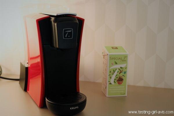 La machine à thé Krups Spécial Mini.T - Thés et infusions - Mon avis