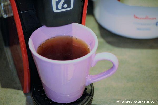 Krups Special Mini.T - Le thé et prêt ! Il n'y a plus qu'à déguster.