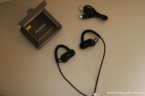 Jabra Elite Active 45e : écouteur intra auriculaire sans fil pour le sport