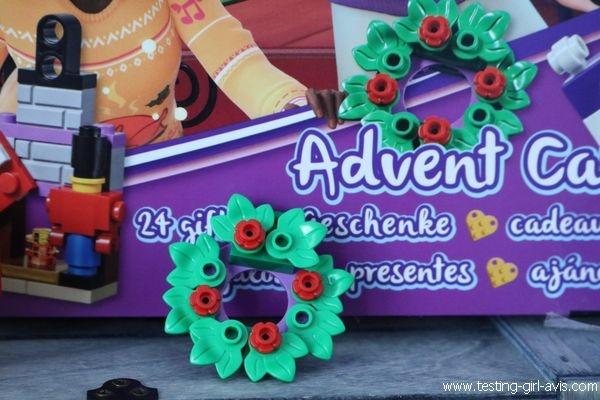 Le calendrier de l'Avent LEGO Friends - Couronne de Noël