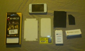 protection intégrale InvisibleSHIELD pour iPhone 3G/3GS