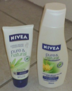 Nivea pure et natural