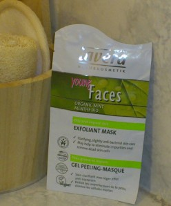 lavera masque gel peaux jeunes