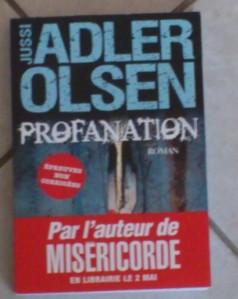 Profanation de Jussi Adler-Olsen