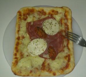Sodebo Pizza Style #3 Chèvre-Bacon