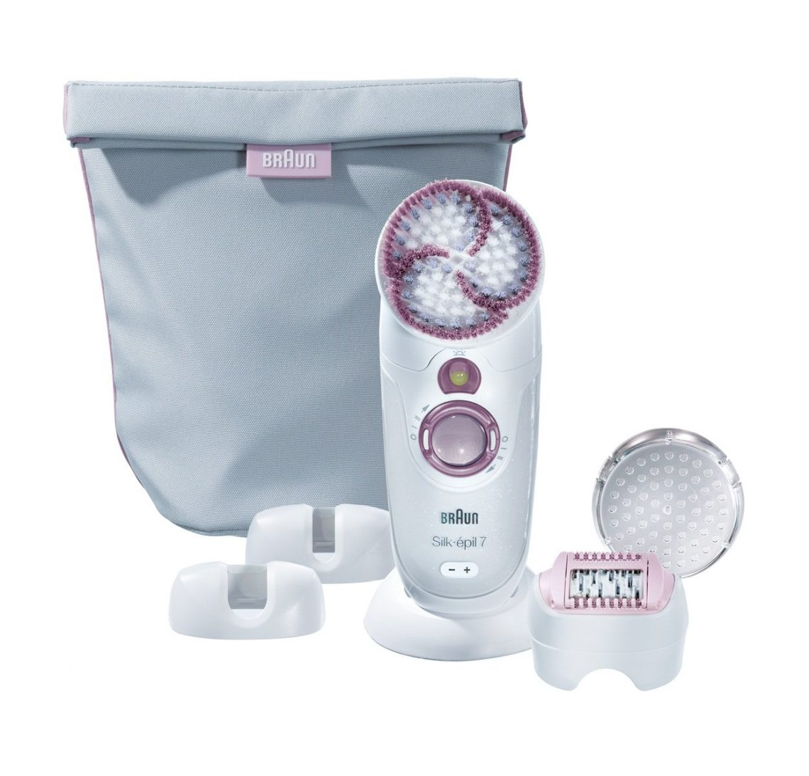 épilateur exfoliateur Silk Epil 7 Skin Spa Wet & Dry de Braun