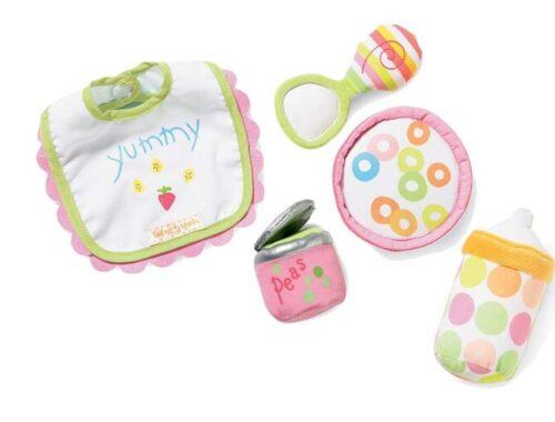Manhattan Toy - Accessoire - Poupée et Mini-Poupée - Baby Stella - Ensemble Repas