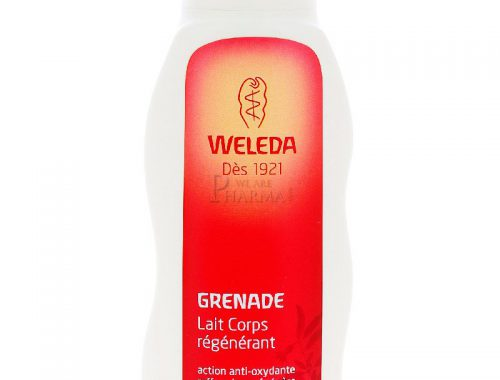 lait régénérant pour le corps à la grenade Weleda