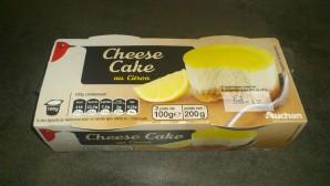 Auchan Cheesecake au Citron