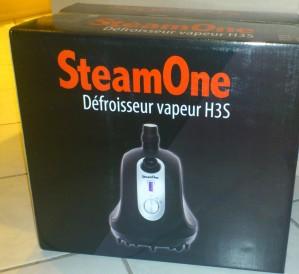défroisseur vapeur vertical de maison SteamOne H3S