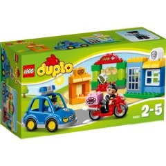 Lego Duplo Legoville - Jeu De Construction - L'intervention De La Police