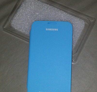 J'ai testé la Flip Cover Bleue officielle pour Galaxy Note 2 [Mobile Fun]