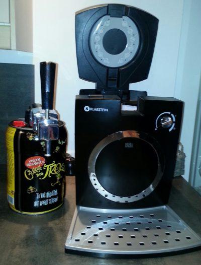 Tireuse à bière de 5L Klarstein Hopfenthal -  avec système à pompe - noire