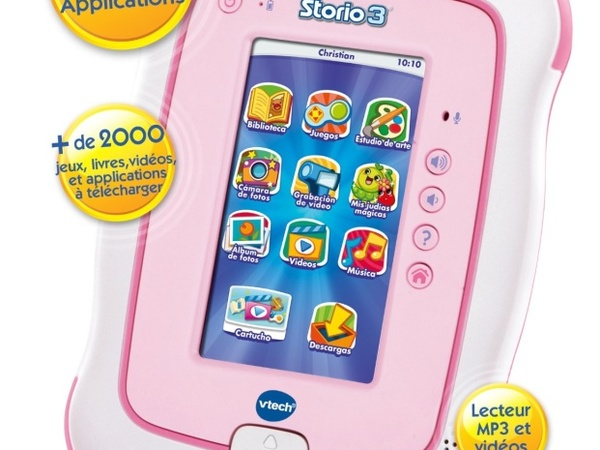 Tablettes Enfant vtech storio 3