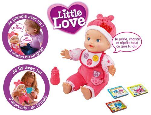 Poupon Little Love - Mon Bébé Apprend À Parler de Vtech