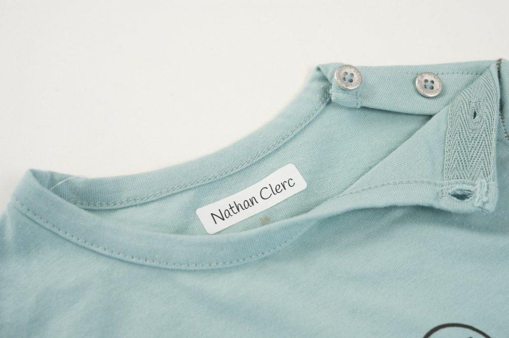 Étiquettes AVERY autocollantes différents formats pour identifier les vêtements