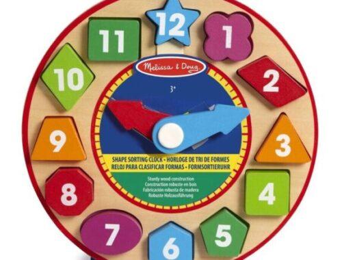 Horloge De Tri De Formes de Melissa & Doug