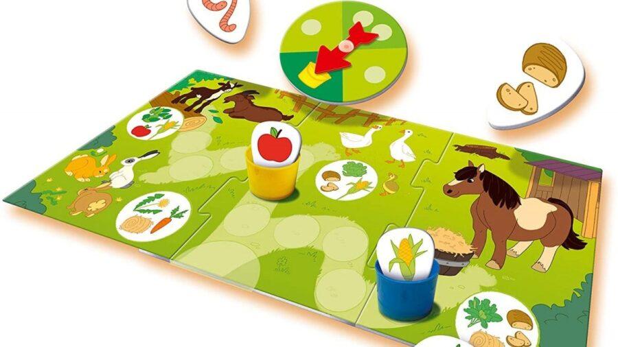 Le jeu éducatif Qui mange quoi ? de Ravensburger