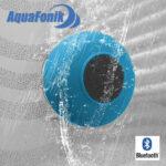 Enceinte Bluetooth AquaFonik pour la Douche - Bleue