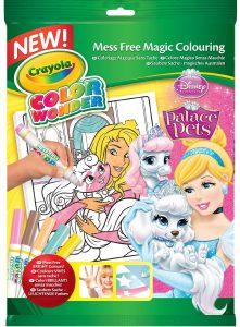 Ma puce a testé le Livre À Colorier Crayola Kit Princess Palace Pets Disney
