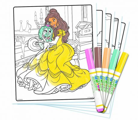 Livre à Colorier Crayola Kit Princess Palace Pets Disney