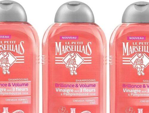 le petit marseillais shampoing brillance naturelle cheveux ternes fins
