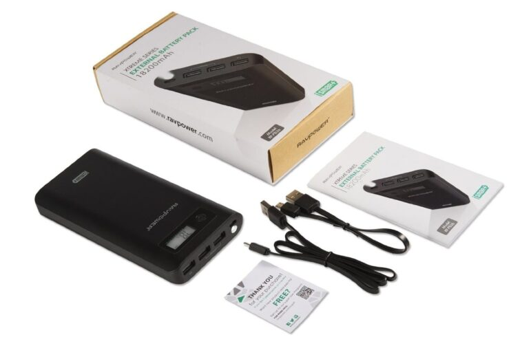 J'ai testé la Batterie Externe Xtreme Chargeur 18200mAh de RAVPower