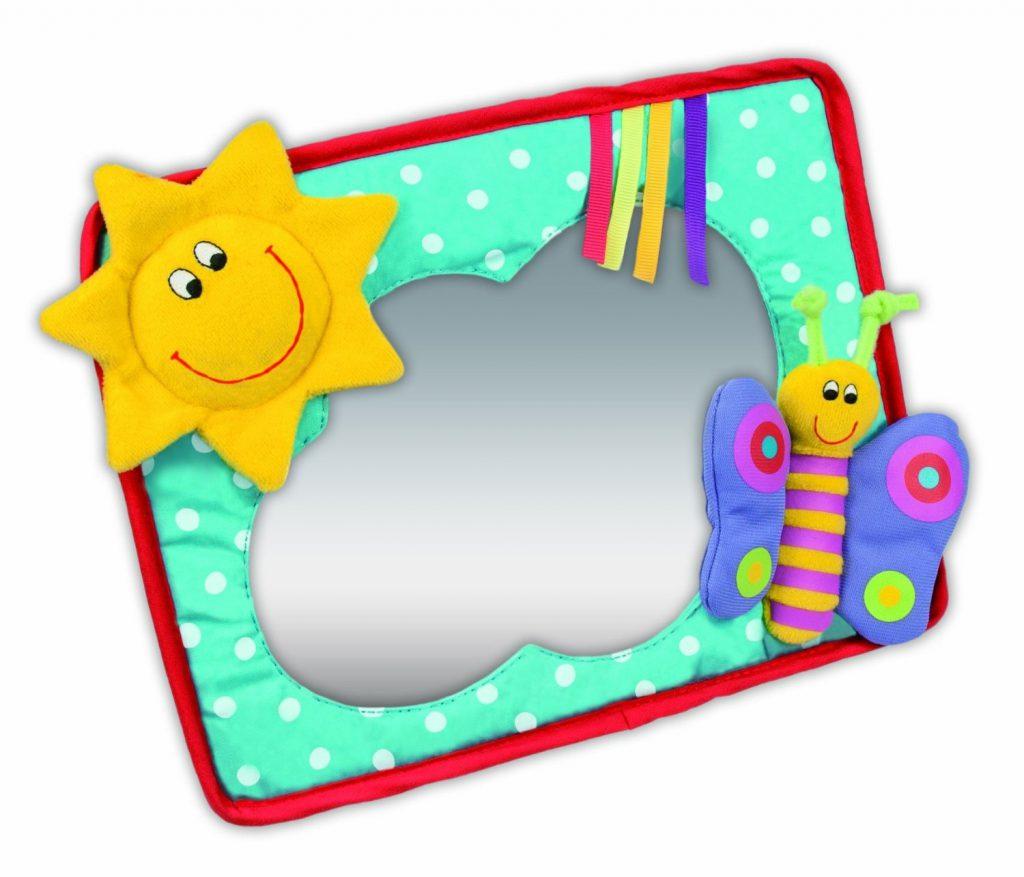 Mon petit lapin a testé le miroir soleil de Galt
