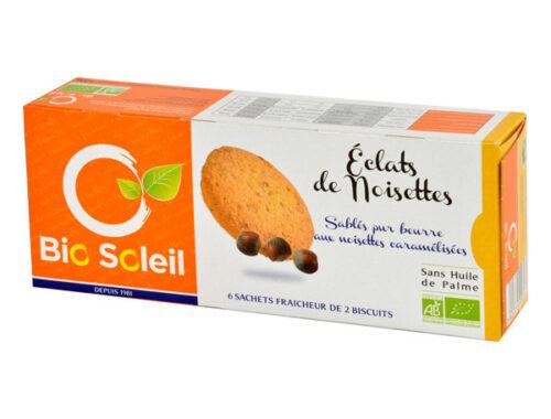 J'ai testé les sablés pur beurre aux noisettes caramélisées BioSoleil