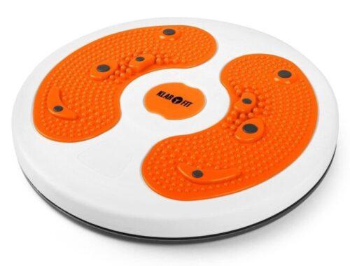 myTwist Body Twister, une plaque de massage pour pieds et exercices de gym/aérobic de Klarfit