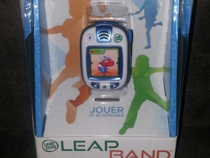 montre d'activités Leapband de Leapfrog