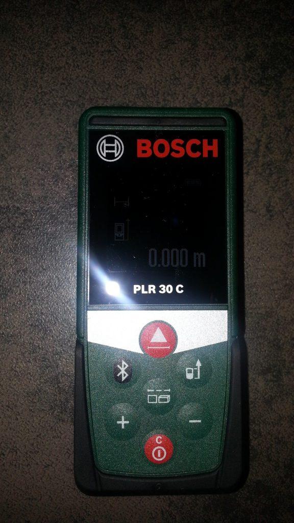 télémètre laser connecté BOSCH