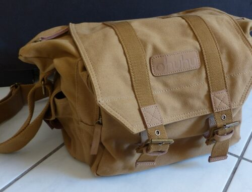 Le sac toile d'épaule pour caméra appareils photo reflex Sac de voyage loisir randonnée Ohuhu