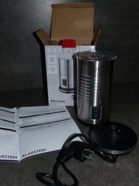 Le Mousseur à lait electrique chauffant de 400W 3 en 1 de Klarstein Biancolatte