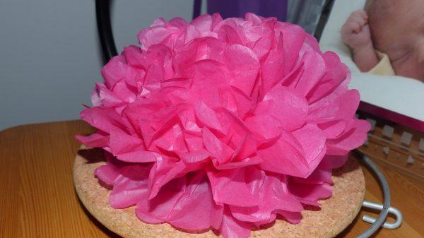 ohuhu fleur papier soie