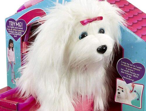 Le chien Fluffy d'Animagic