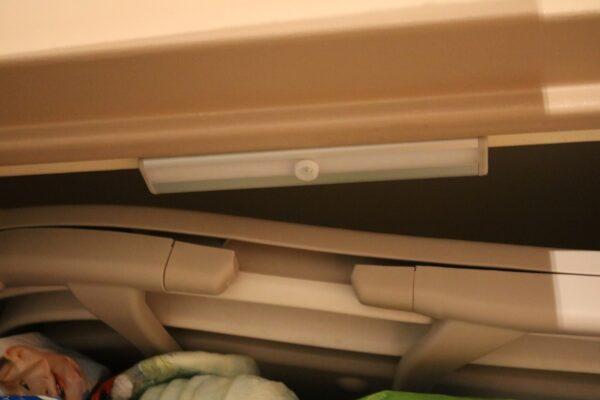 rampe à LED à détection de mouvements OxyLED