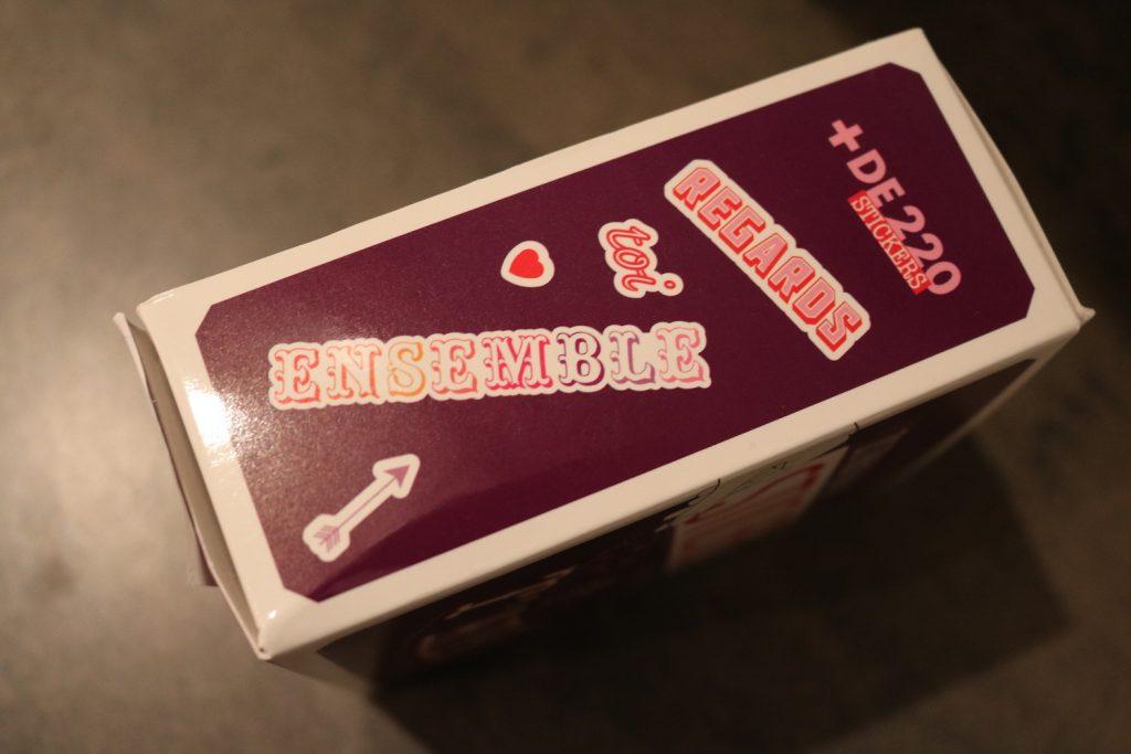 distributeur de stickers pour dire Je T'aime