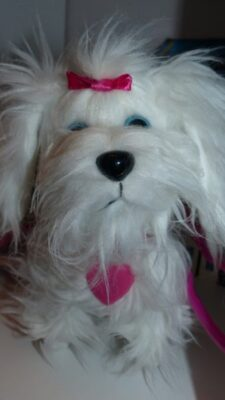 chien Fluffy d'Animagic