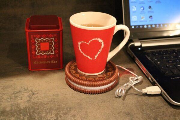Réchaud boisson USB Cookie