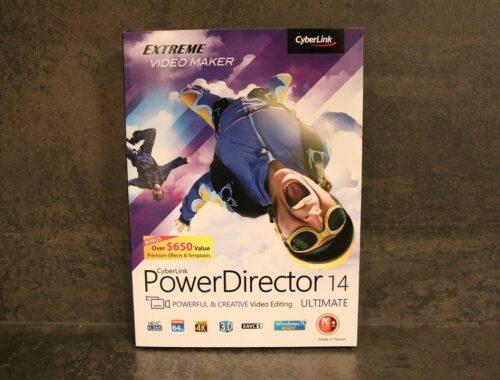 Le logiciel de montage vidéo Power Director Ultimate 14