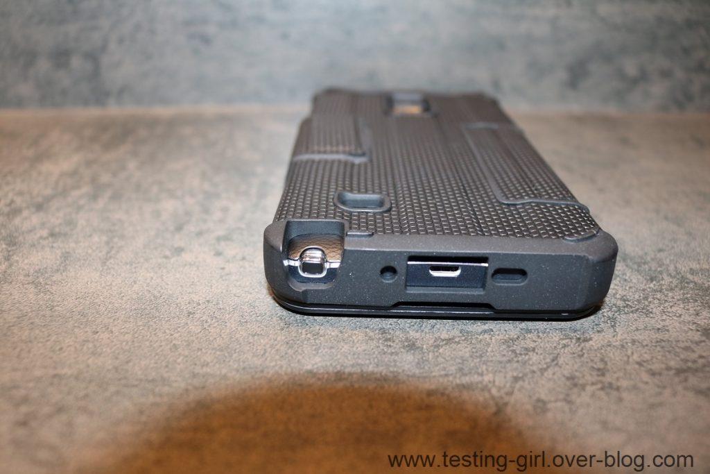 La housse Protective Rogue Portefeuille de UAG pour Galaxy Note 4