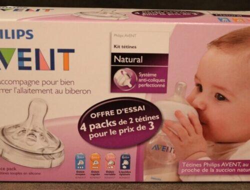 kit de tétines Natural de Philips Avent