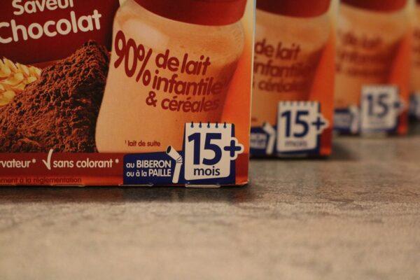 Les P'tit Déj Chocolat Madeleine & Babicao chocolat de Nestlé