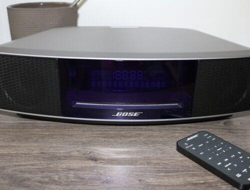 Le son selon le Sound Wave Music System IV de Bose