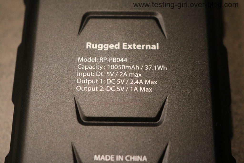 La batterie externe iSmart pour baroudeurs RAVPower