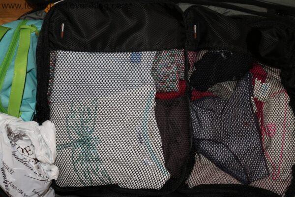 Des valises bien organisées avec les sacoches de rangement d'AmazonBasics